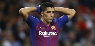 Luis Suarez will stay at Barcelona for treatment over the international break