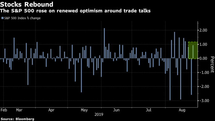 , Treasury Yields Sink to 3-Year Lows on 'No-Limit' Trade War Fear