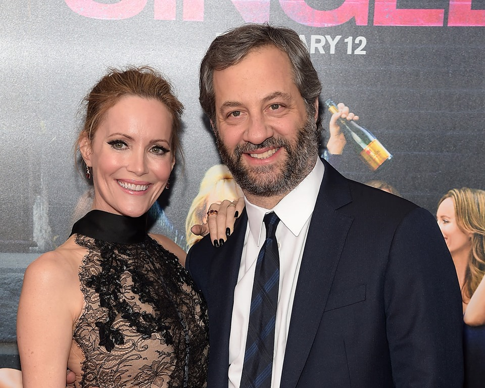 Exclusive: Judd Apatow and wife Leslie Mann caught in screaming fight in LA