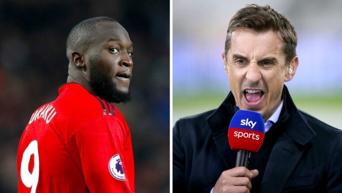 , Manchester United Legend Gary Neville Slams Romelu Lukaku As He Leaves For Inter Milan