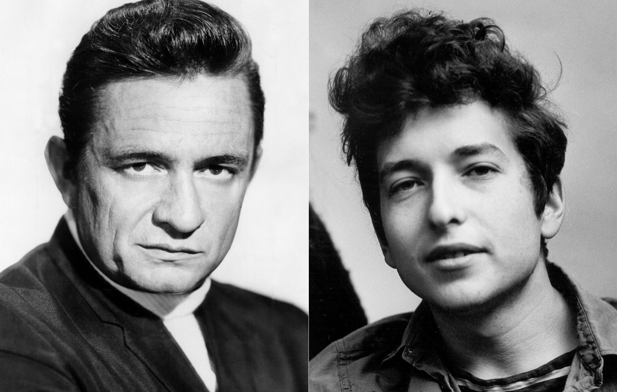 """Bob Dylan and Johnny Cash's Previously Postponed Demo for """"Wanted Man"""" Now Released"""