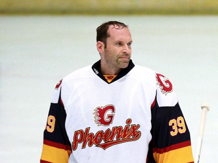 Petr Cech fulfilled a childhood dream with the Guildford Phoenix