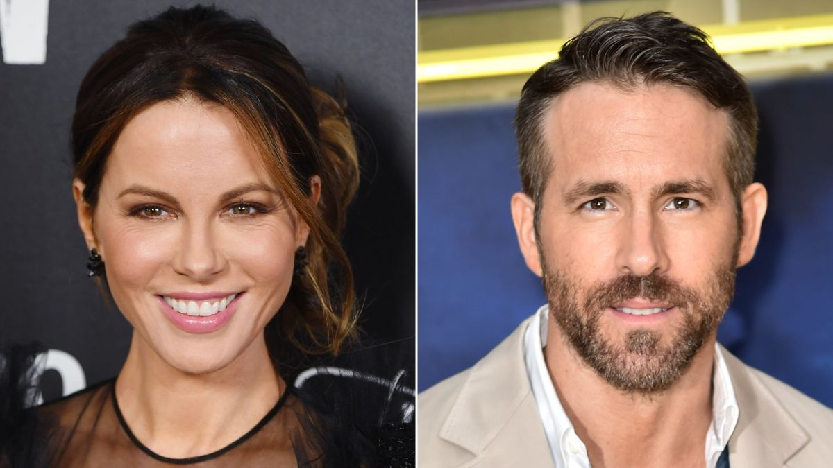 Kate Beckinsale thinks she looks like Ryan Reynolds-  What made her think so?