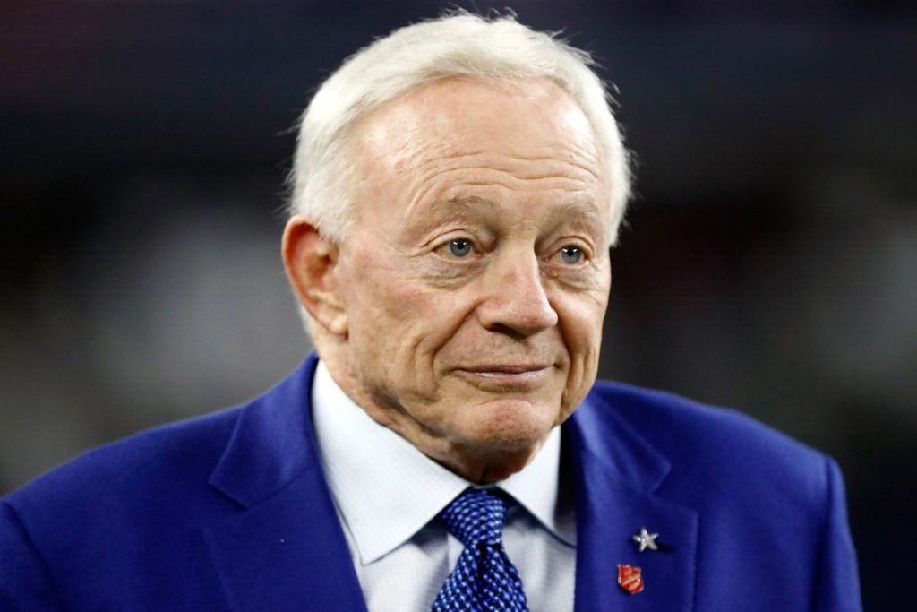 Jason Garrett's abusive language penalty elicits joke from Jerry Jones- Here's what happened