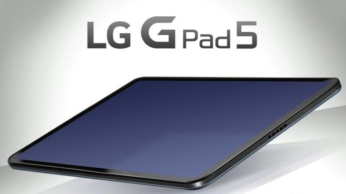 , LG To Launch G Pad 5 tablet Soon with Snapdragon 821 SoC  8,200 mAh battery