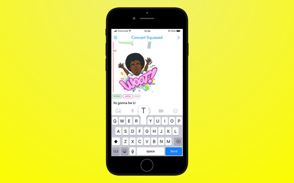 Snapchat App Updated with  New, Free Drawing AR Option