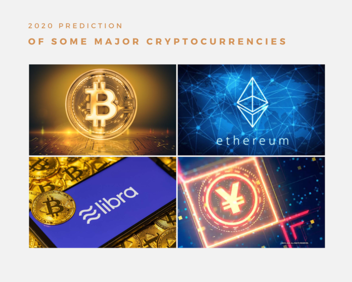 , 2020 Prediction Of Some Major Cryptocurrencies