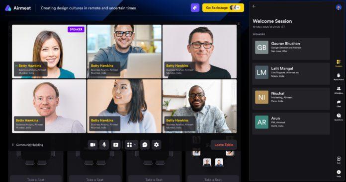 Social Lounge Video frame grid1