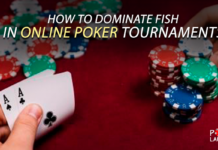 How to dominate fish in online poker tournaments.